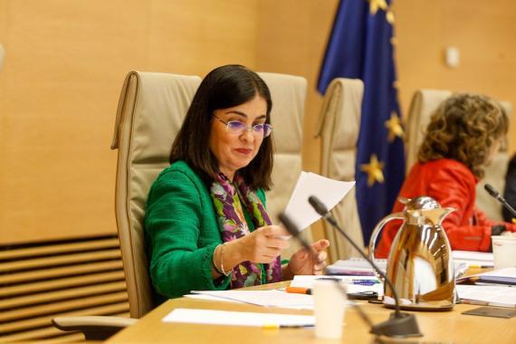 Carolina Darias, ministra de Sanidad.