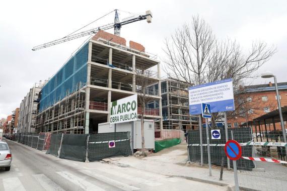 Construcción de vivienda en España
