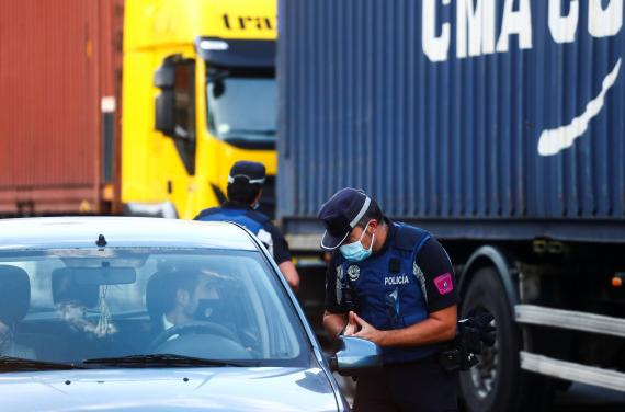Control de tráfico en Madrid