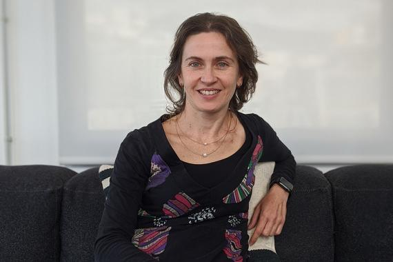 La cofundadora de Reby Cristina Castillo.