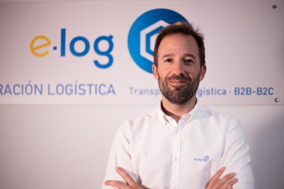 David Murillo, Director Territorial de la empresa logística e-log.