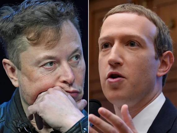 Elon Musk y Mark Zuckerberg