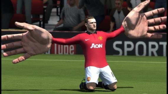 Uno de los glitches más conocidos del FIFA 14.