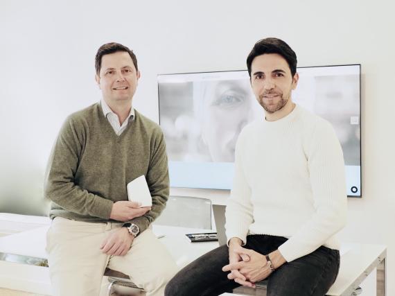 Los fundadores de Oriwami, José María Navia-Osorio y Ángel Sánchez