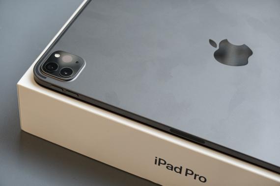 iPad Pro en su caja