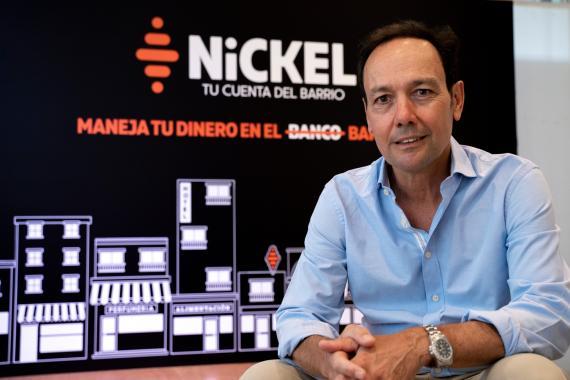 Javier Ramírez, CEO de Nickel en España.