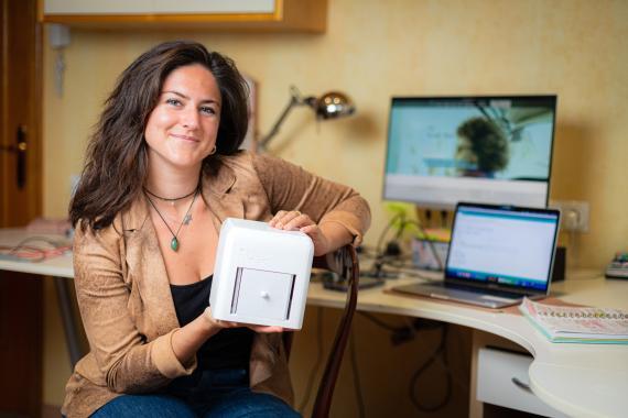 Judit Giró, CEO y cofundadora de The Blue Box.