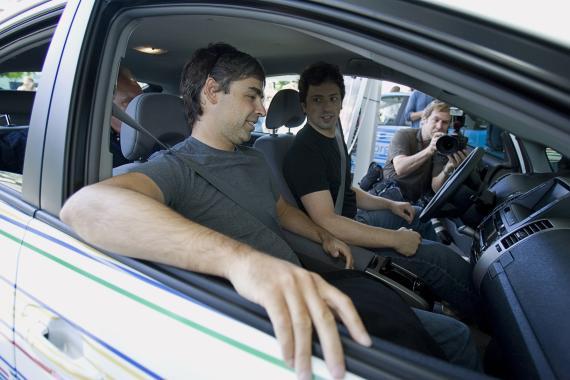 Larry Page y Sergey Brin, fundadores de Google, en una imagen de archivo.