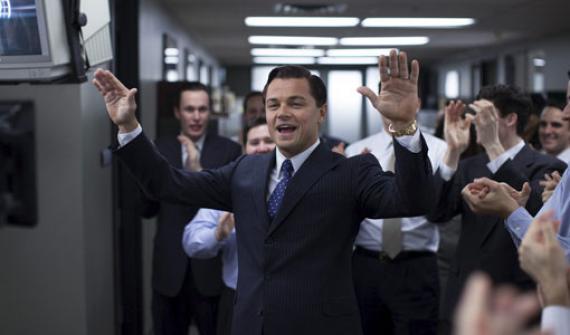 Fotograma de la película El lobo de Wall Street.