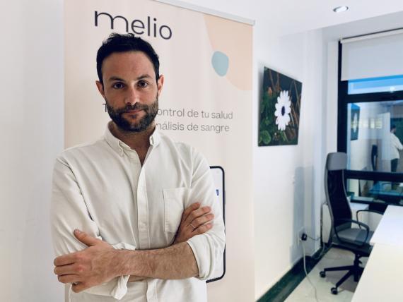Mario Cantero, CEO de Melio.