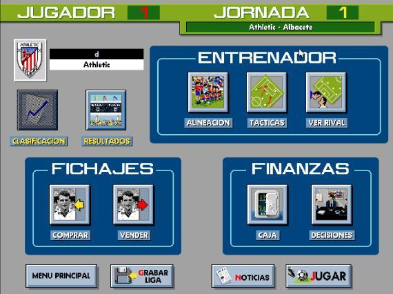 PC Fútbol de la temporada 93-94 (Internet Archive)