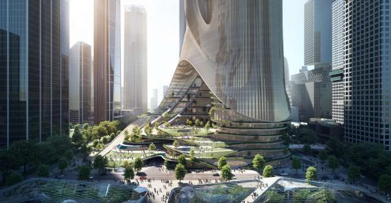 Rascacielos de Zaha Hadid