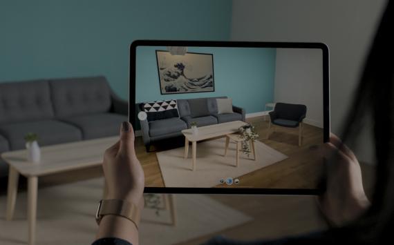 Realidad aumentada de Apple