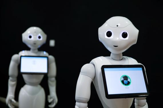 Imagen del robot Pepper, desarrollado por Softbank.