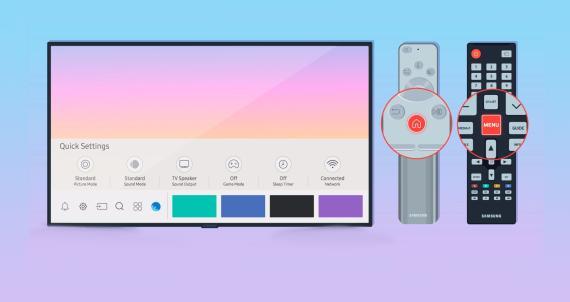 TV Samsung Configuración