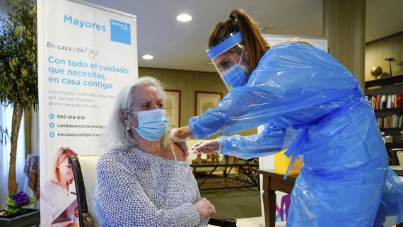 Vacunación contra el COVID-19 en España