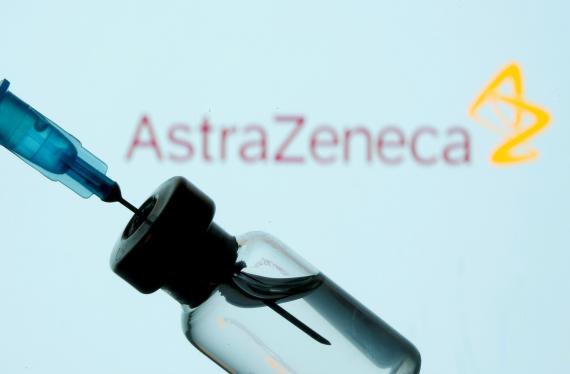 Un vial de la vacuna del coronavirus de AstraZeneca