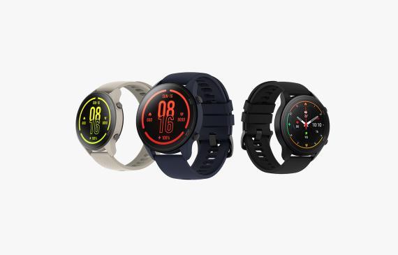 Xiaomi mi watch en diferentes colores