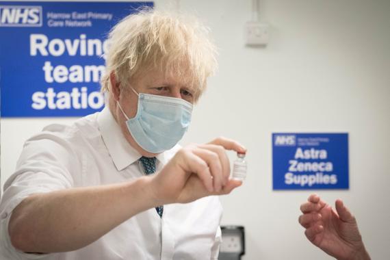 cepa británica, Boris Jhonson