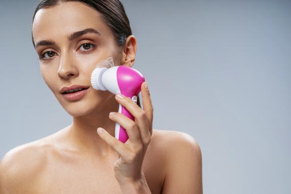 Cepillo de limpieza facial