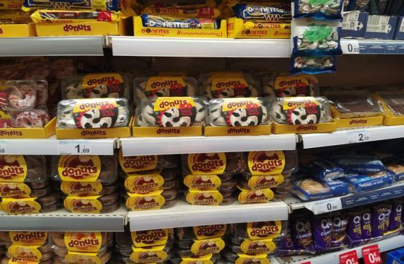 Donuts de Carrefour