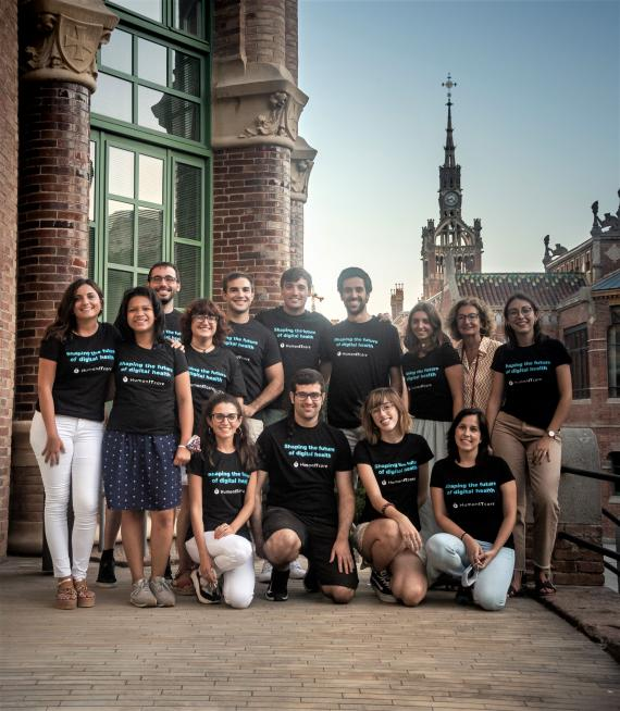 El equipo de HumanITCare.