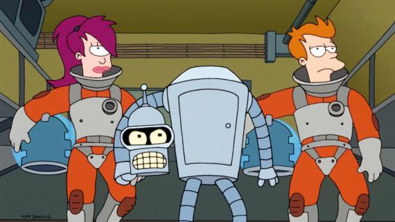 Fotograma de 'Futurama'