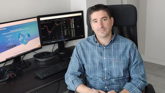 Javier Castro-Acuña, director de control de gestión de Bitnovo