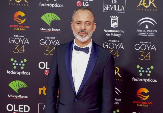 Javier Gutierrez, en los premios Goya