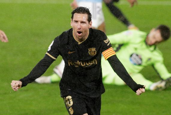 Lionel Messi, jugador del FC Barcelona