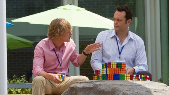 Owen Wilson, como Nick Campbell, y Vince Vaughn, como McMahon, en 'The Intership'.