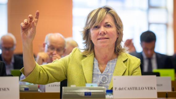 Pilar del Castillo, eurodiputada del PP y exministra de Educación.