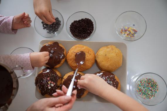 receta donut