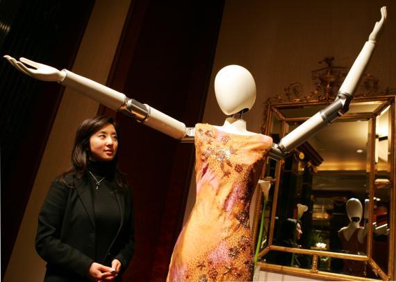 Robots en el mundo de la moda