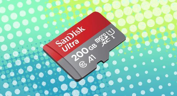 SanDisk Ultra de 200GB