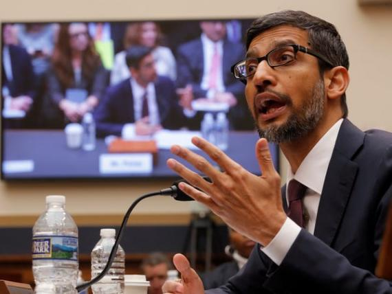 El consejero delegado de Google, Sundar Pichai.