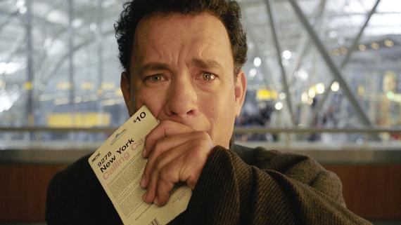 Tom Hanks en 'La terminal'.