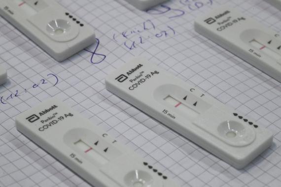 Test rápido de coronavirus