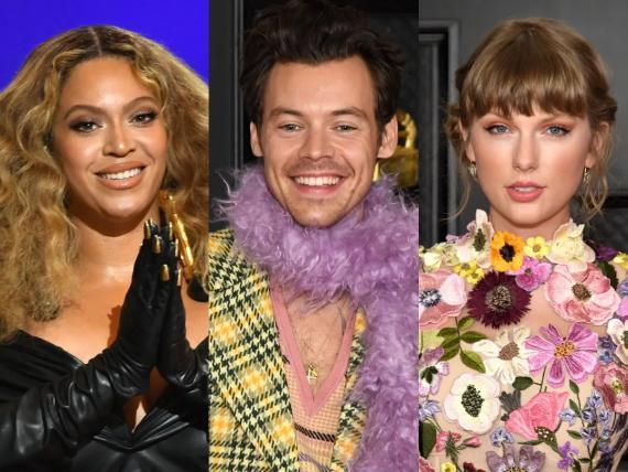 Beyoncé, Harry Styles y Taylor Swift han ganado premios en los Grammy 2021.