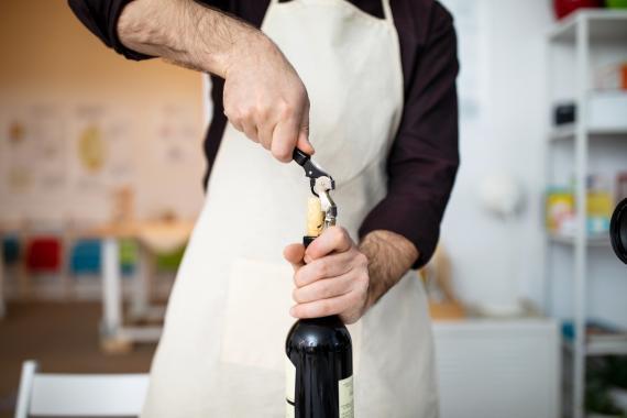 botella de vino, como guardarla una vez abierta