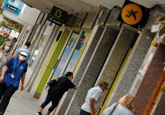 Caixa y Bankia.