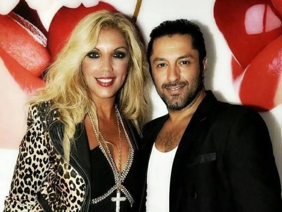 La cantante Rebeca junto al bailaor Rafael Amargo (rebecamusic.es)