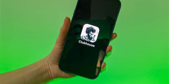 La app de Clubhouse.