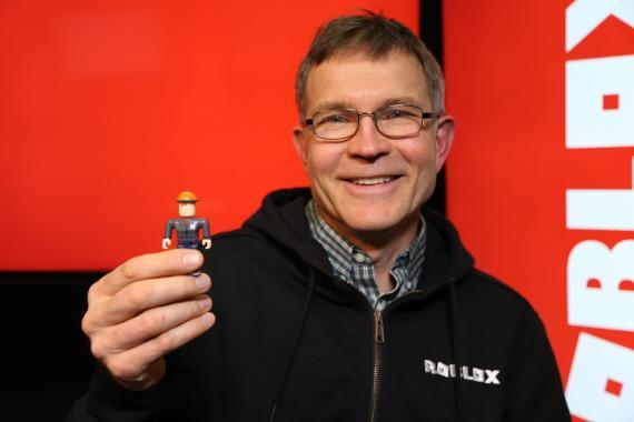 David Baszucki, cofundador y CEO de Roblox.
