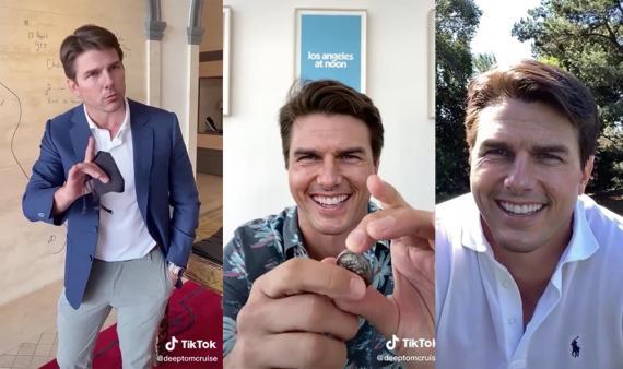'Deepfake' del actor Tom Cruise que se hizo popular en TikTok.