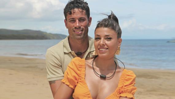 Diego y Lola, concursantes de la Isla de las Tentaciones.