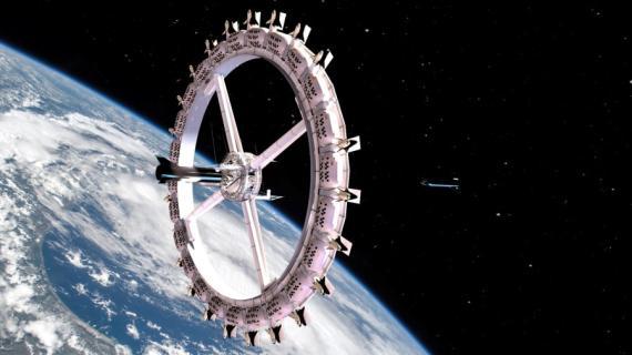 El nuevo hotel espacial tendrá capacidad para 1.250 personas.