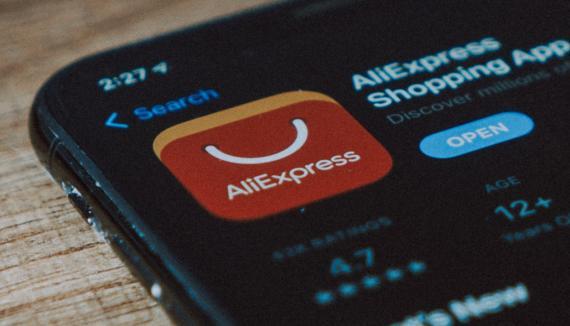 Icono aplicación AliExpress