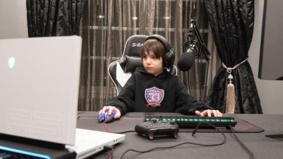 Joseph Deen, de California, es el jugador profesional más joven de 'Fortnite'.
