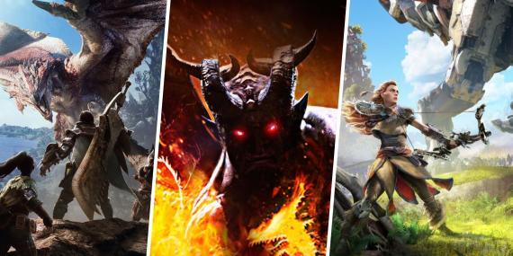 Juegos que puedes comprar por el precio de Monster Hunter Rise